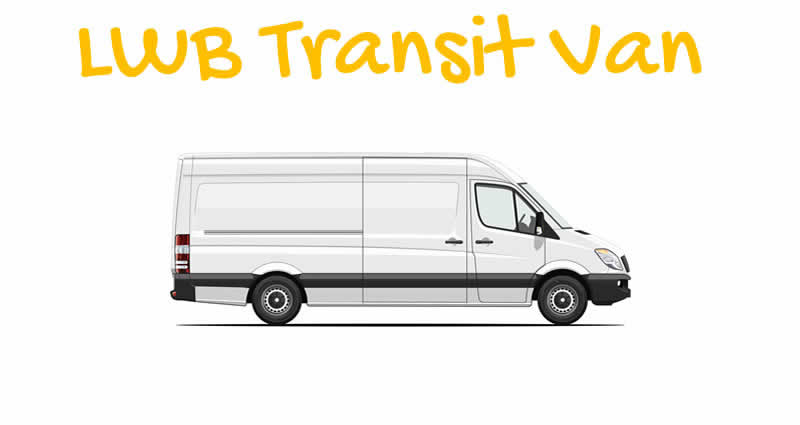 Long Wheel Base (LWB) Transit Van with Man London